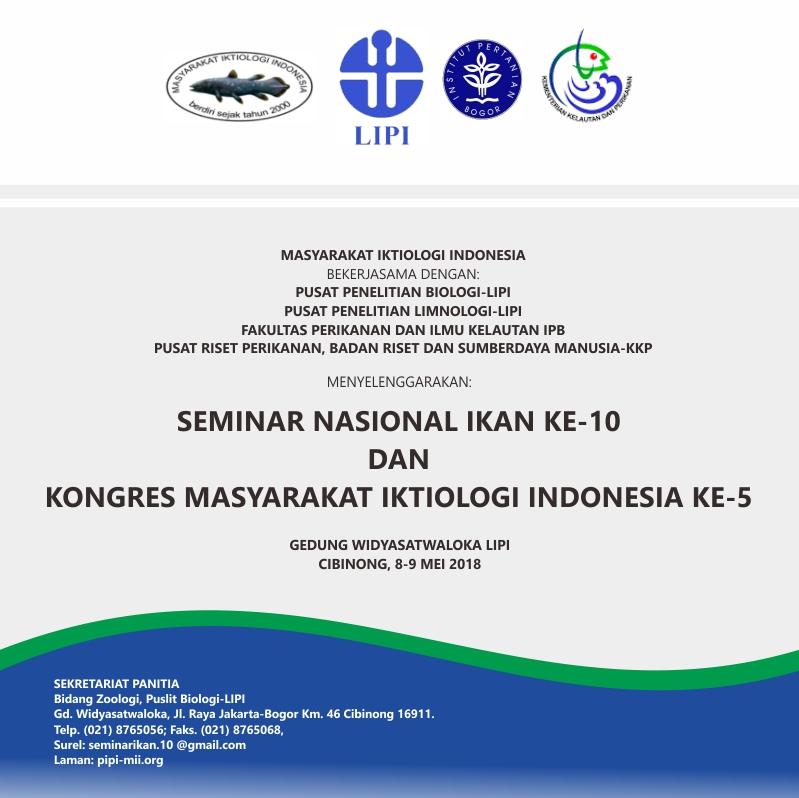 Seminar Nasional Ikan Ke 10 Dan Kongres Masyarakat Iktiologi
