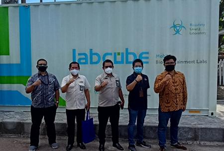 IPB University Alumni Develop LabCube, Accelerate Handling of COVID-19 Outbreak