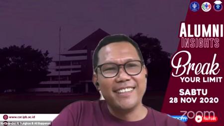 Alumnus of IPB University Director of Bappenas Shares Career Success Tips