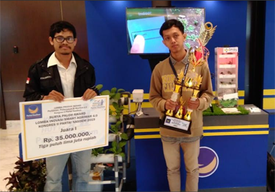 Crop Hero: An Intelligent Tool for Monitoring the Agricultural Environment by IPB University Students