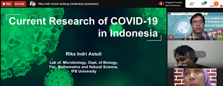 Department Of Biology Ipb University There Are 9 Covid 19 Genomes In Indonesia Japan 130 Genomes Ipb University
