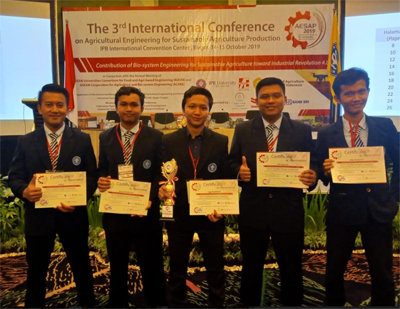 Erbron-C: A Five Acclaimed Awards Creative Technology by IPB University Students