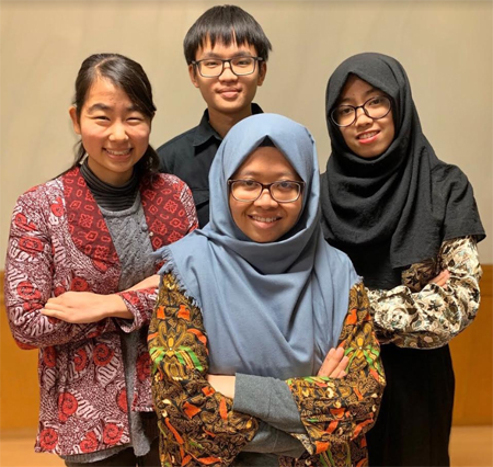 Collaborating with Students from Japan and China, Postgraduate Student from IPB University has successfully passed to The Hult Prize Regional Summits