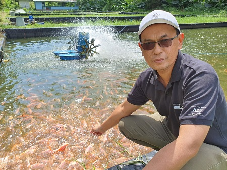 Prof Dr Sukenda Temukan Vaksin Ikan dari Isolat Lokal untuk Budidaya Akuakultur