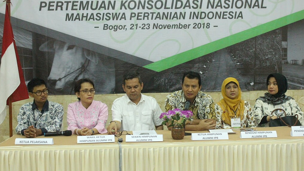 HA IPB University and Indonesian Ministry of Agriculture Hold National Consolidation of Indonesian Agricultural Students