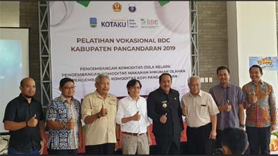 Alumni Association IPB University Collaborated with Business Development Center to Develop Pangandaran Coffee
