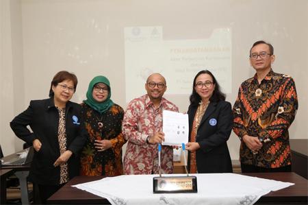 IPB University Collaborates with PT Soho Industri Pharmasi to develop Cat Mustache Drink