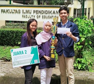 IPB University Student Placed Second in Agent of Change National Debate Competition