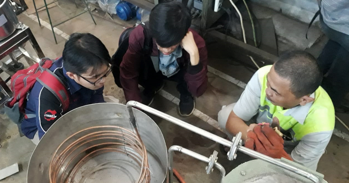IPB University Students Change Plastic and Agricultural Waste into