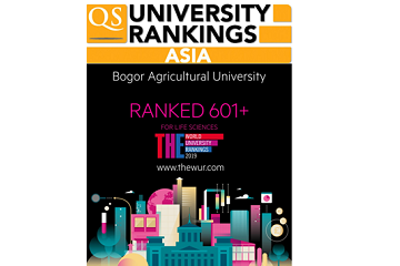 IPB's Standings on World's University Rankings Significantly