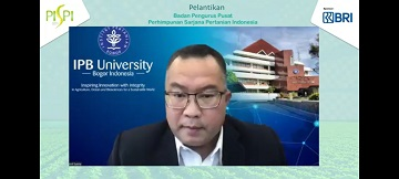 The Chancellor of IPB University Gives Perspective and Relevance to the Agro Maritime Sector in Boosting the Economy in the New Normal Economic Era